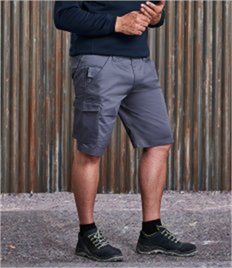 Russell Polycotton Twill Shorts