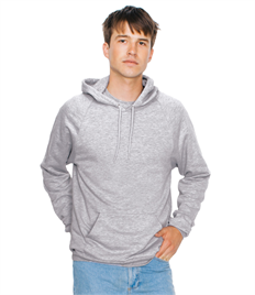American Apparel Unisex California Fleece Pullover Hooded Sweatshirt