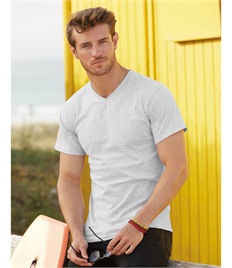 Fruit Of The Loom Valueweight V Neck Tee