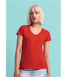 Fruit Of The Loom Ladies' 150 V-Neck T