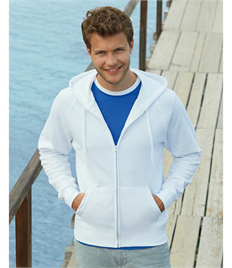 Fruit Of The Loom Men's Lightweight Hooded Sweat Jacket