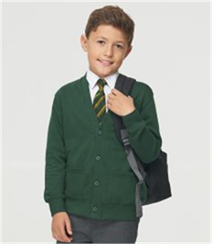 AWDis Academy Kids Sweat Cardigan