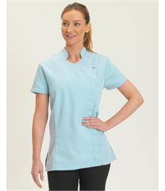Dennys Beauty Tunic Asymmetric Zip Fastening