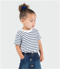 Larkwood Baby/Toddler Striped Crew Neck T-Shirt