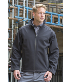 WORK-GUARD by Result Men's Treble Stitch Softshell