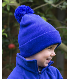Result Winter Essentials Junior Pom Pom Beanie