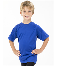 Spiro Impact Junior Performance Aircool Tee