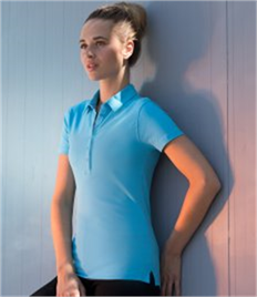 SF Ladies Stretch Piqué Polo Shirt