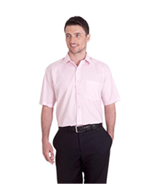Uneek Mens Poplin Half Sleeve Shirt