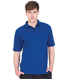 Ultimate Clothing 50/50 Heavyweight Pique Polo